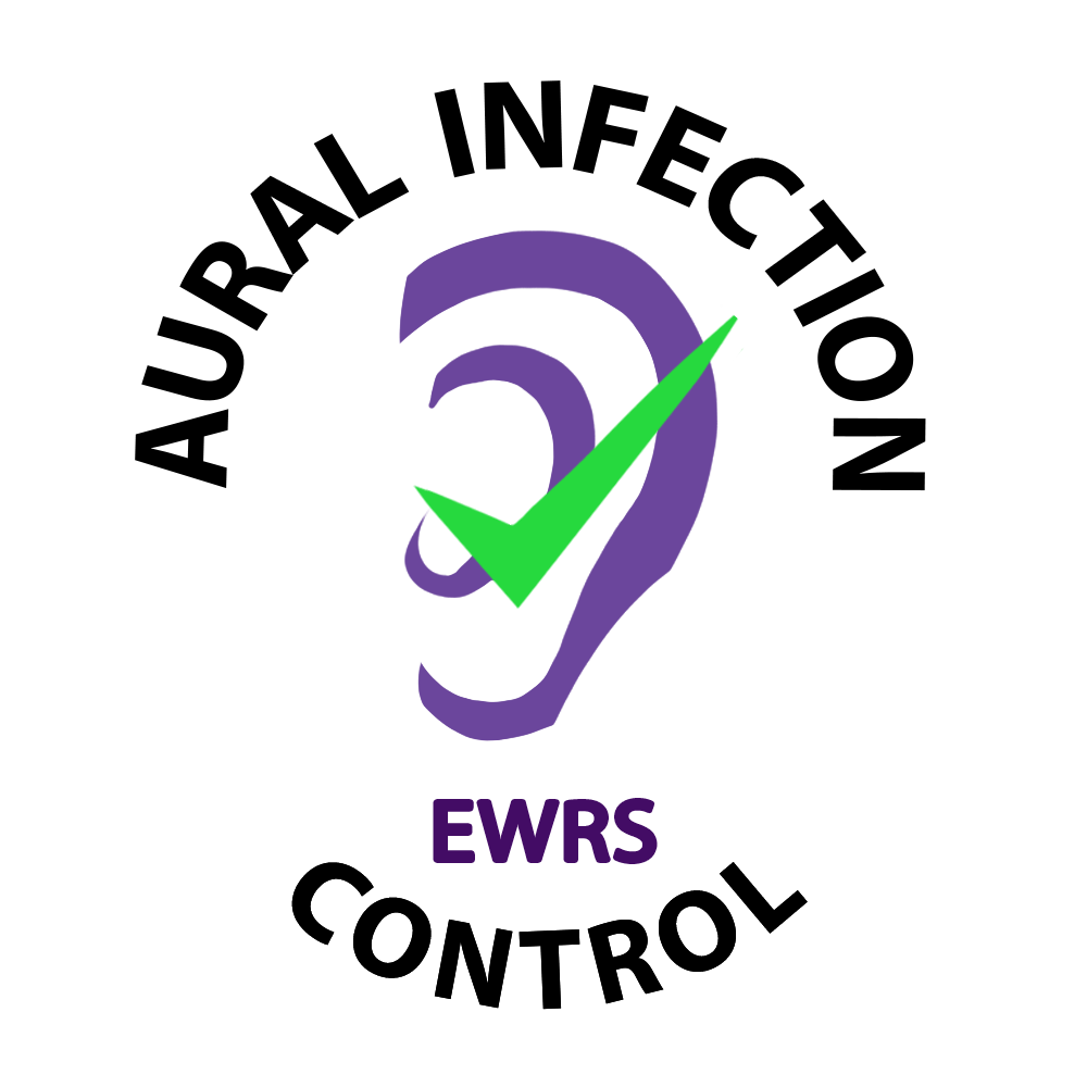 EWRS Certified Ear Swabbing Logo